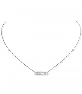 Collier Baby Move Or Blanc, Messika