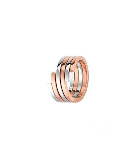 Bague Baby Move Pavé Or Rose, Messika